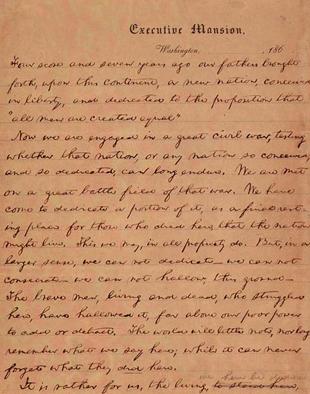 The Gettysburg Address, 149 years later