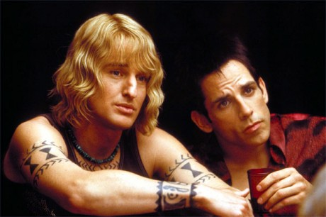 Zoolander and Hansel ponder Matilda's words