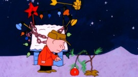 Charlie Brown's Christmas tree and the American Dream