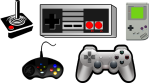 Atari, Nintendo, Game Boy, X-Box, Playstation 4